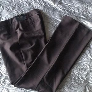 New Worthington Chocolate Brown  Curvy Fit Pants